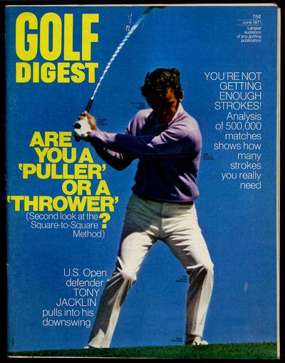 Norwalk, Connecticut: Golf Digest, Inc, 1971. Softcover. Near Fine. First edition. Near fine with li...