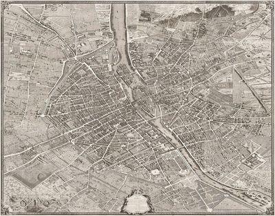 Plan de Paris commencé l'année 1734
