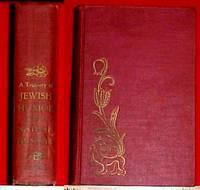 A TREASURY OF JEWISH HUMOR by Nathan Ausubel, Ed.- - 1951