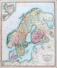Sweden and Norway, Wilkinson, 1826 by Robert Wilkinson - 1826
