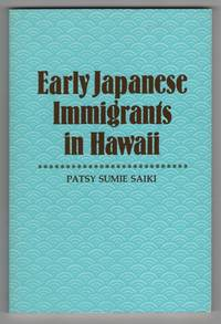 Early Japanese Immigrants in Hawaii
