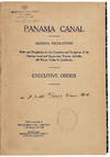 View Image 1 of 2 for General Regulations. Rules and regulations for the operation and navigation of the Panama Canal and ... Inventory #38258