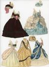 View Image 4 of 4 for Fine Handmade Watercolor Paper Doll - Marie Antoinette w 8 costumes and hats Made by Hand, Manuscrip... Inventory #290008692