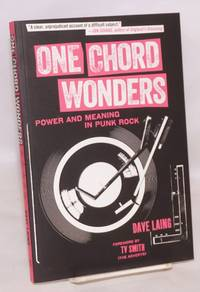 image of One chord wonders, power and meaning in punk rock.  Foreword by TV Smith