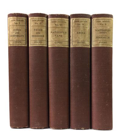 London: Oxford University Press, 1933. Third Edition. Hardcover. Very Good. 5 vols. Reddish brown cl...