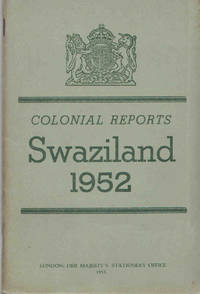 Annual Report on Swaziland for the year 1952