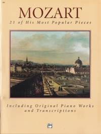 Mozart 21 of His Most Popular Pieces by  Wolfgang Mozart - Paperback - from Chisholm Trail Bookstore (SKU: 19158)