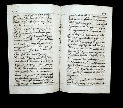 Manuscript book of Copied Medical Papers