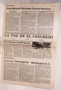 La voz de El Congreso Cinco de Mayo Spring 1984