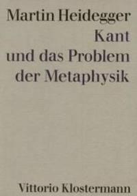 image of Kant und das Problem der Metaphysik.