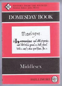 Domesday Book. Volume 11: Middlesex