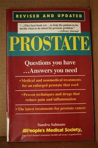 Prostate  Questions You Have ...Answers You Need