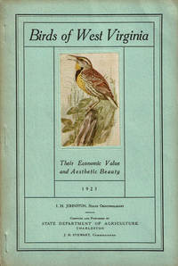 image of BIRDS OF WEST VIRGINIA: Their Economic Value and Aesthetic Beauty.