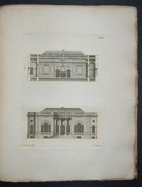 Familiar Architecture: Consisting of Original Designs of Houses for Gentlemen and Tradesmen, Parsonages and Summer-Retreats; With Back-Fronts, Sections, Etc., Together with Banqueting-Rooms, Churches, and Chimney-Pieces, To which is Added, The Masonry of the Semicircular and Elliptical Arches, with Practical Remarks by RAWLINS (Thomas) - Signed First Edition - from Forest Books and Biblio.com
