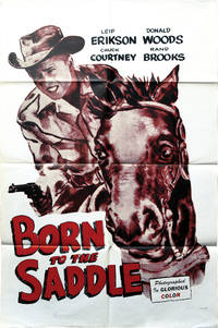 Born to the Saddle (Original poster for the 1953 film)