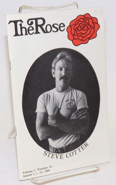 La Jolla: V & R Enterprises, 1980. Magazine. 36p., 5.5x8.5 inches, photos, ads, features, events, re...