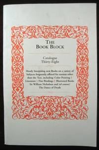 The Book Block: Catalogue Thirty-Eight