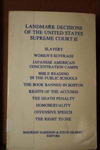Landmark Decisions of the United States Supreme Court II