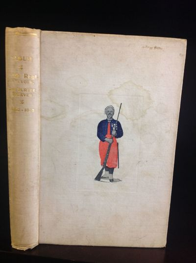 The Regiment: Privately Printed, 1906. First edition. White decorated cloth. Light staining to cover...