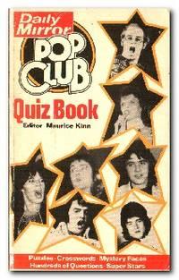 image of Daily Mirror Pop Club Quiz Book