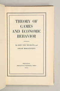 image of Theory of Games and Economic Behavior.