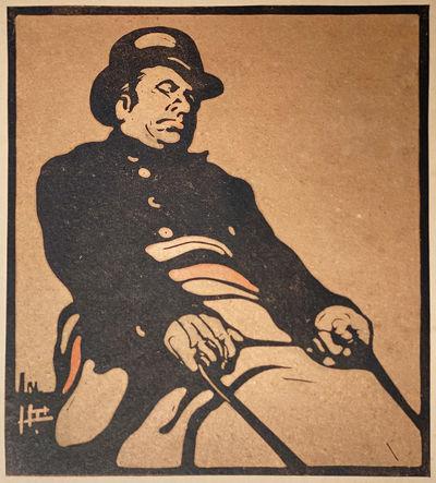 NICHOLSON (William) London Types: The Bus Driver (Knightsbridge Road) (London: Heinemann, 1899) Orig...
