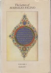 image of The Letters of Marsilio Ficino Volume 3    being a translation of Liber IV