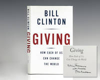 image of Giving: How Each Of Us Can Change The World.