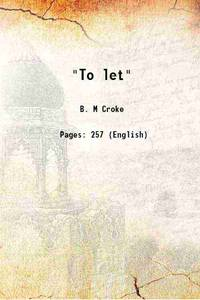 To let 1906 [Hardcover]