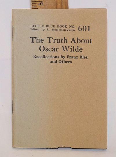 Girard, KS: Haldeman-Julius Company, n.d.. 61p., wraps. Little blue book #601.