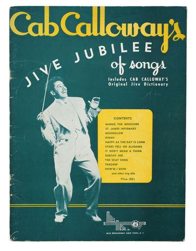 Cab Calloway's Jive Jubilee of Songs.