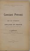 View Image 2 of 2 for CONSTANT PREVOST. Coup d'Oeil Rétrospectif sur la Géologie en France Pendant la Première Moitié ... Inventory #019805
