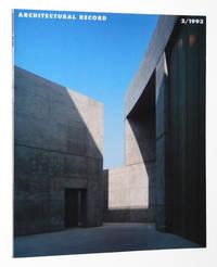 Architectural Record Magazine February 1993: Santiago Calatrava and Antoine Predock