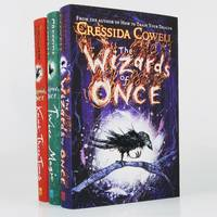 image of The Wizards of Once, Twice Magic, Knock Three Times: Set of Three Signed, Dated in the Year of Publication_Numbered