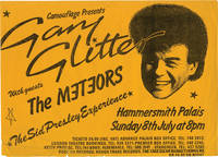 Camouflage Presents Gary Glitter with guests The Meteors (Original Music Poster)