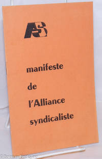 image of Manifeste de l'Alliance Syndicaliste