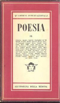 Quaderni internazionali. Poesia. Quaderno IX, 1948