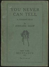 New York: Brentano's, 1915. Softcover. Good. First Brentano's edition. Printed green self-wrappers. ...