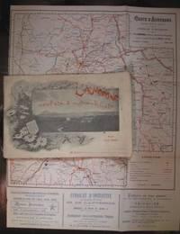 L'Auvergne, cycliste & automobiliste - Itinéraires avec profils des pentes...