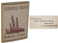 Steeple Bush by  Robert; Samuel French Morse Frost - Signed First Edition - 1947 - from Idler Fine Books and Biblio.com