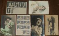 image of Lot of 6 early Sample Postcards Pretty Girls, Boudoir, Sample Postcards