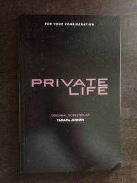 image of PRIVATE LIFE SCREENPLAY