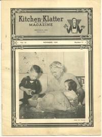 KITCHEN KLATTER MAGAZINE NOVEMBER 1949 by  Leanna Field Driftmier - 1949 - from Gibson's Books (SKU: 73873)