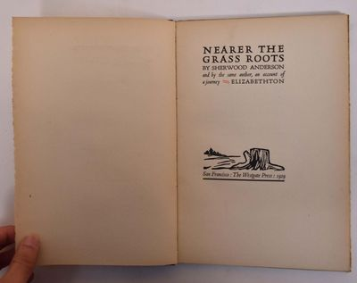 San Francisco, CA: Westgate Press, 1929. Limited to 500 copies, this being 266. Hardcover. VG-, some...