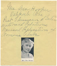 image of Signature and Title