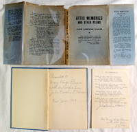 Attic Memories and Other Poems by Julie Caroline O'Hara 1941 Signed Copy