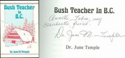 BUSH TEACHER IN B. C., Temple, Dr. June M.