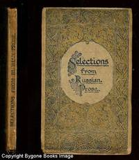 Selections from Russian Prose