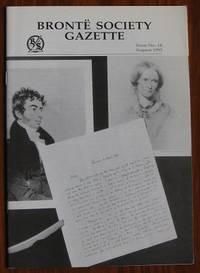 Brontë Society Gazette No. 14 August 1995