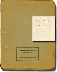 image of La Sauvage [Restless Heart] (Original script for the 1938 play)